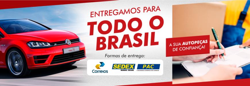 Entregamos para todo o Brasil